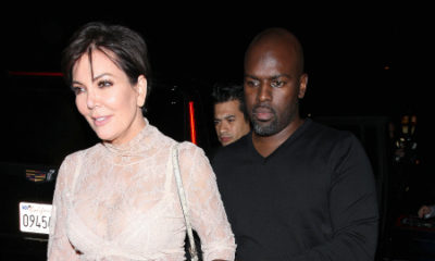 Back Together? Kris Jenner & Corey Gamble Step out for Date Night