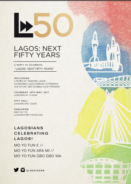 lagos at 50 advert bellanaija