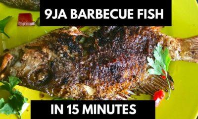 BN Cuisine: Nigerian Barbecue Fish by NazomsCorner