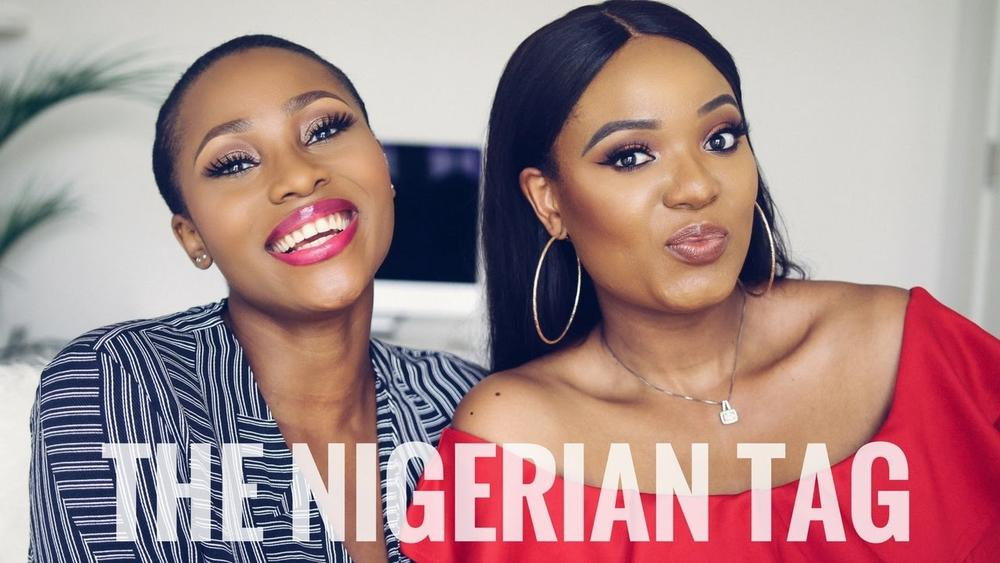 Vloggers Unite! Dimma Umeh & Omabelle try the Nigerian Tag | Watch