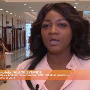 Watch Omotola Jalade-Ekeinde's Interview on Using Movies to Promote Agriculture in India