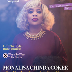 Veteran Actress Monalisa Chinda Coker is The Cover Star for Vanguard Allure's Latest Issue