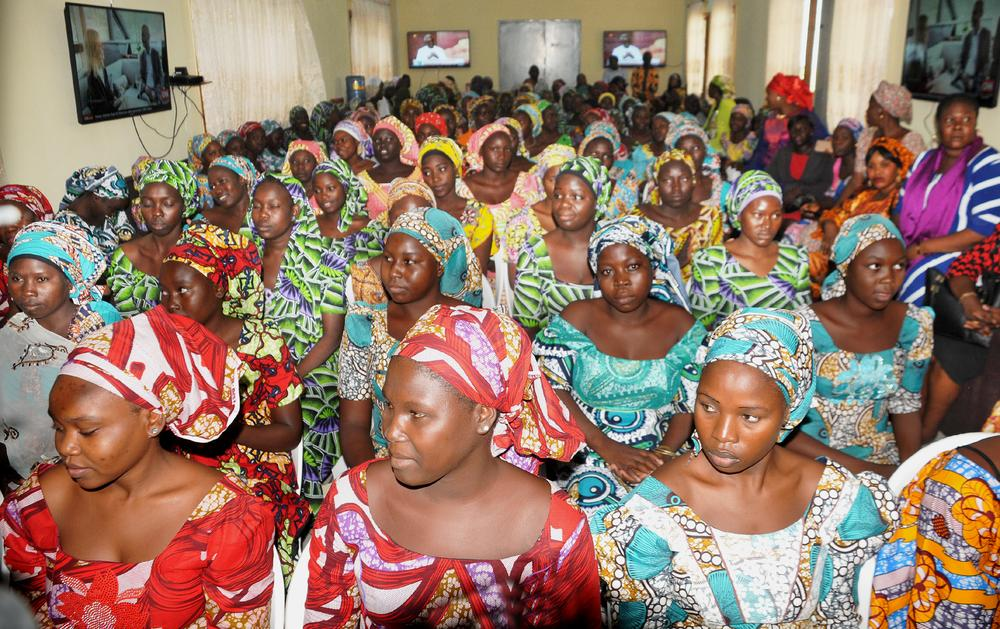 Freed Chibok girls to return home 'fully recovered' following treatment in Abuja