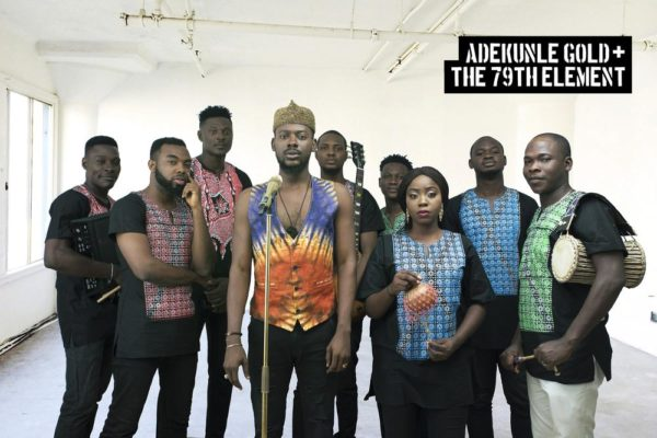 Adekunle Gold & The 79th Element! Singer unveils New Band | See Photos