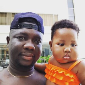seyi law and his daughter bellanaija
