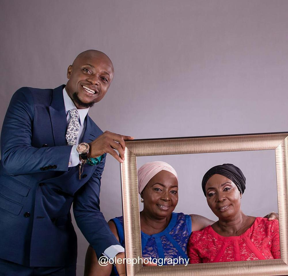 Triple Blessing!This Instagram User Shares same Birthdate with his Mum & her Twin