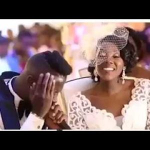 WATCH the Lovely Highlights of Ghanaian Singer Stonebwoy and Dr. Louisa Ansong's Wedding