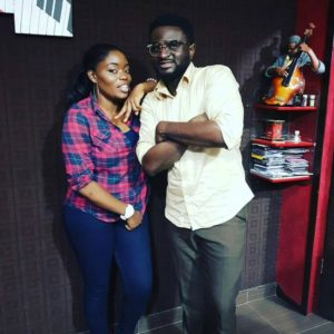 BellaNaija - Something Cooking? #BBNaija's Bisola visits Tee-Y Mix' Studio