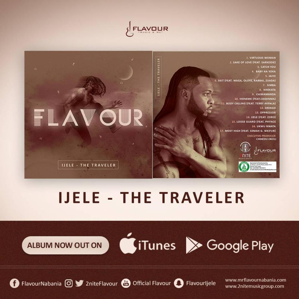 "BellaNaija - Flavour finally unveils 5th Studio Album ""Ijele - The Traveler"""