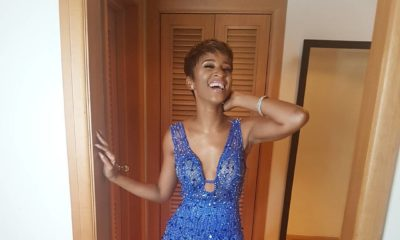 BellaNaija - Adesua Etomi looking Glam for The Premiere of 10 Days in Sun City