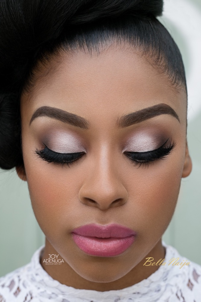 Bn Bridal Beauty Inspired By Real Brides See Joy Adenuga S The Glam Bride Makeup Lookbook