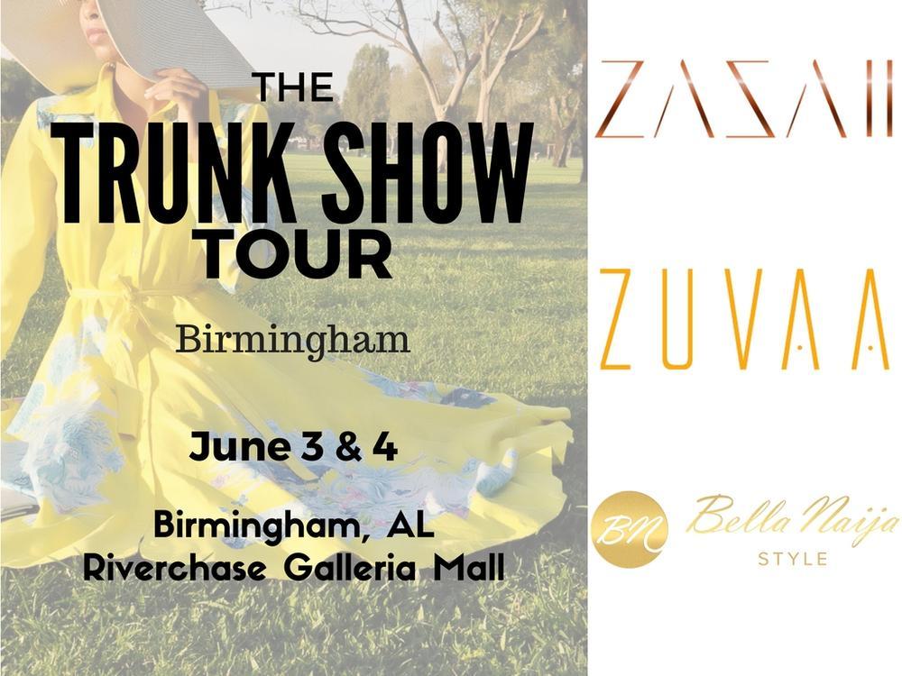 Birmingham Get Ready! BellaNaija Style for 'ZAZAII at ZUVAA' Trunkshow Tour Day 2