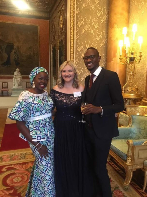 Nigeria's Bukola Bolarinwa & Nasir Yammama Receive Queen's Young Leaders Award for 2017