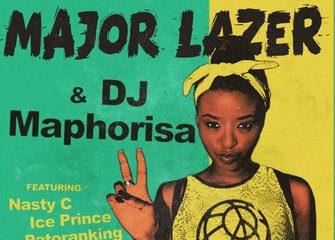 BellaNaija - New Music: Major Lazer ft. Nasty C, Ice Prince, Patoranking & Jidenna – Particula