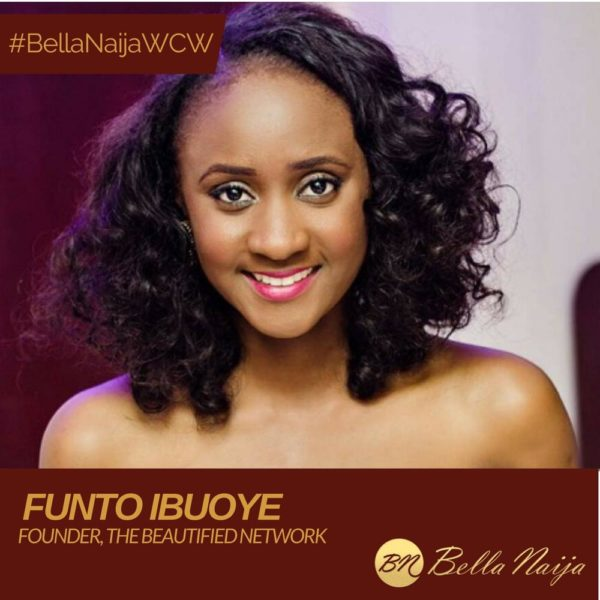 Of Beauty, Purpose, and Greatness: Funto Ibuoye is our #BellaNaijaWCW this Week