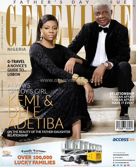 Kemi and Dele Adetiba are the Perfect Duo on the June 2017 Cover of Genevieve Magazine