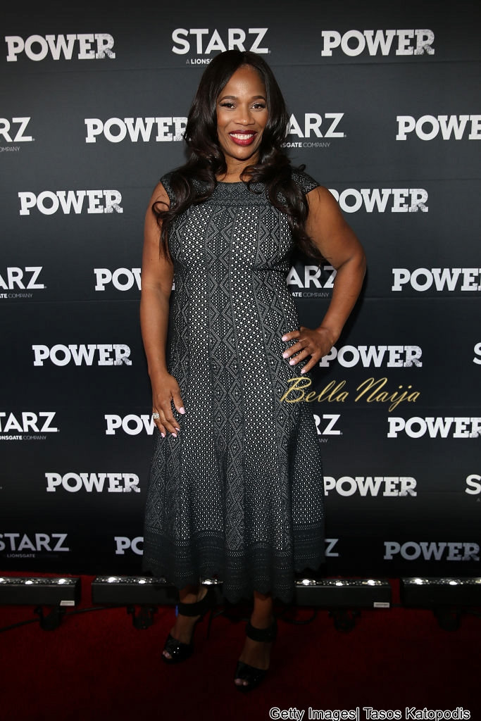 Nautri Naughton, Omari Hardwick , 50 Cent & more Grace the Red carpet for the Premiere of Power Season 4