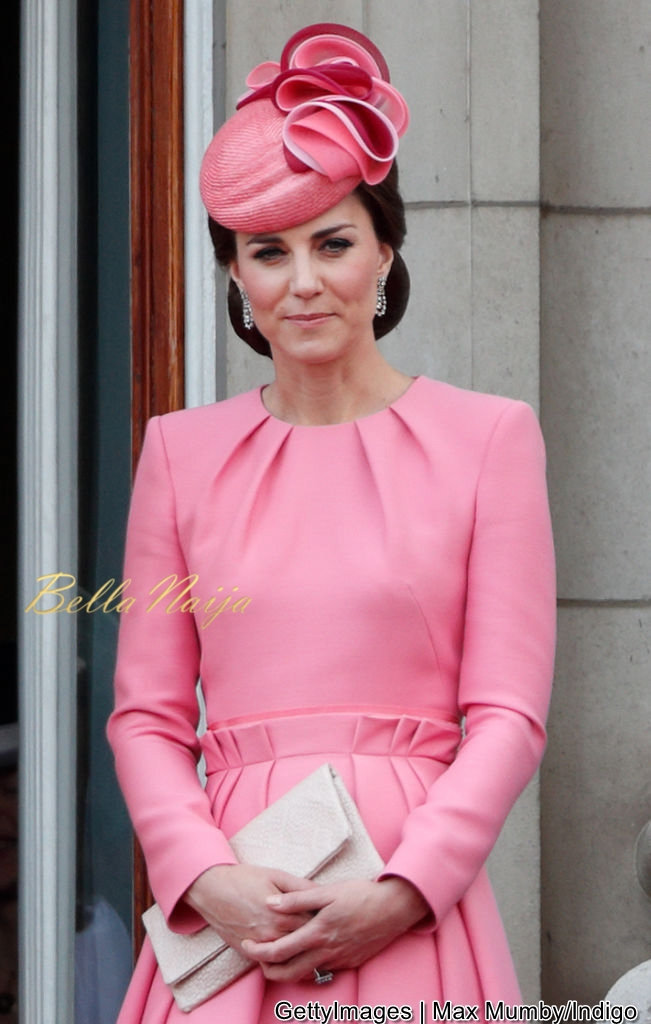 Kate Middleton is Pretty in Pink for the Birthday Celebration of Queen Elizabeth II
