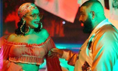 BellaNaija - DJ Khaled shares B.T.S. photos from New Video Shoot with Rihanna & Bryson Tiller