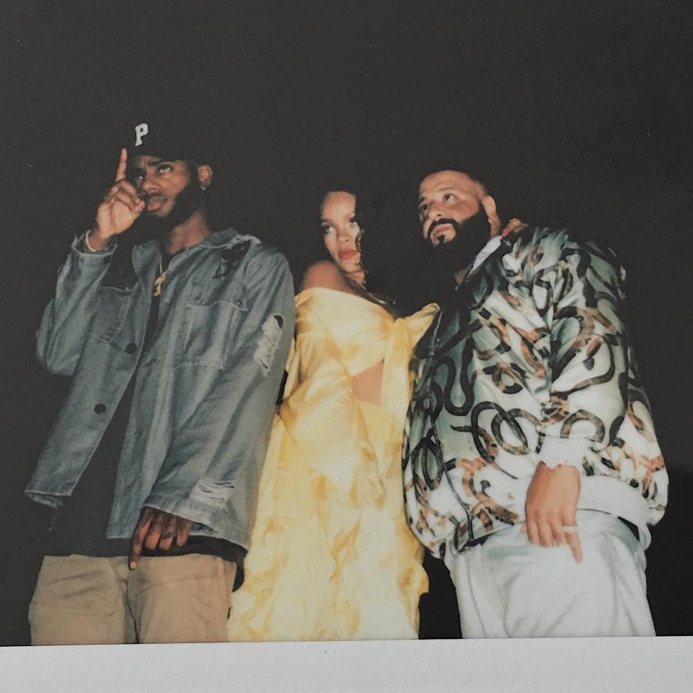 BellaNaija - DJ Khaled shares B.T.S. photos from New Video Shoot with Rihanna & Bryson Tiller