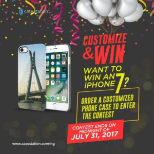 Win a Free iPhone 7! Customize Your Phone Case and Stand a Chance to Win a Free iPhone