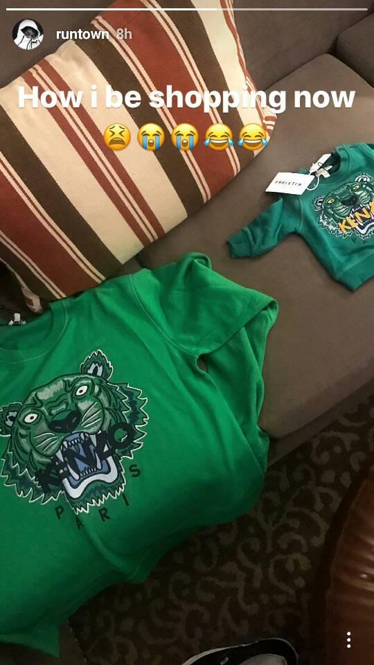 Runtown, Son, Shirts