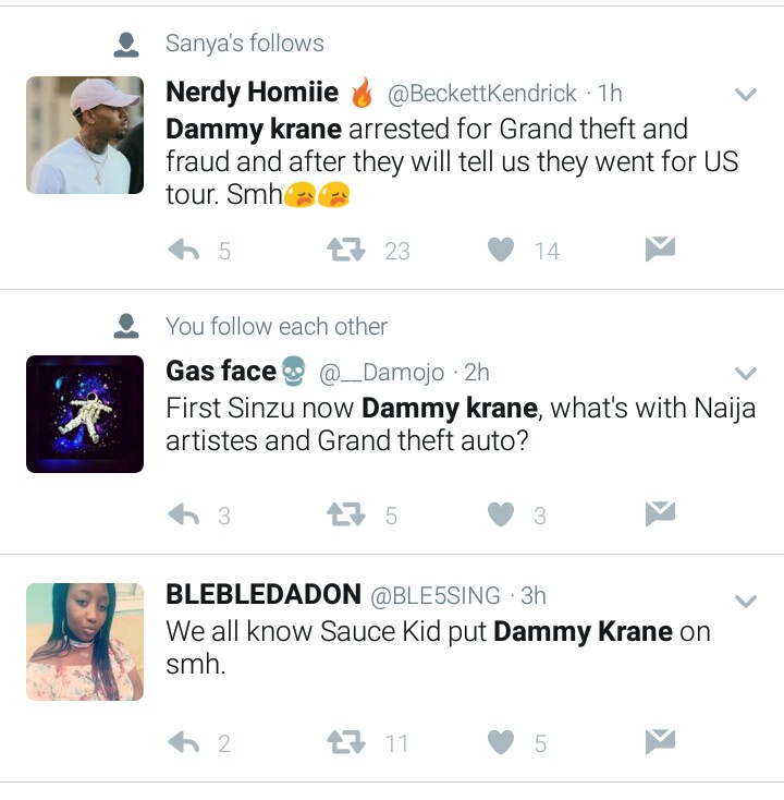 BellaNaija - Nigerians react to Dammy Krane's Arrest