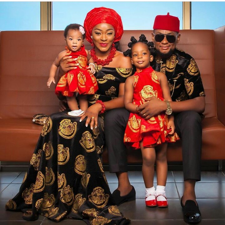 Chacha Eke Faani Shares Adorable Family Photos to Celebrate her 4th Wedding Anniversary