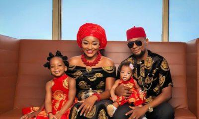 Chacha Eke Faani Shares Adorable Family Photos to Celebrate her 4th Wedding Anniversary