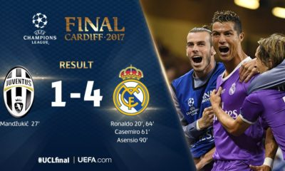 #UCLFinal: Real Madrid Lifts UEFA Champions League Trophy!