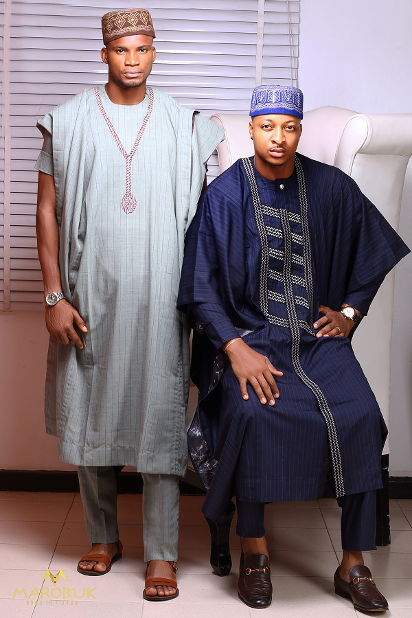 "Marobuk releases 2017 Menswear Collection ""Regal Man"" featuring IK Ogbonna & Austin Igwilo"