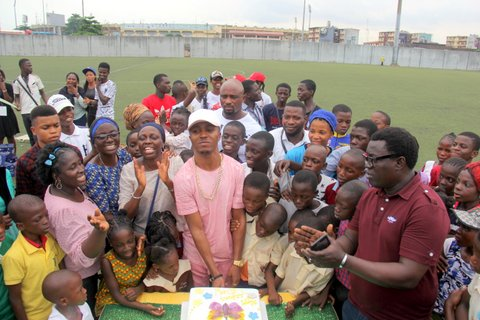 Funmi Iyanda's Change-A-Life Foundation Fetes Children at Children's Day Celebration