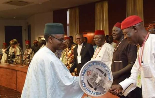 Mallam El-Rufai meets Igbo leaders