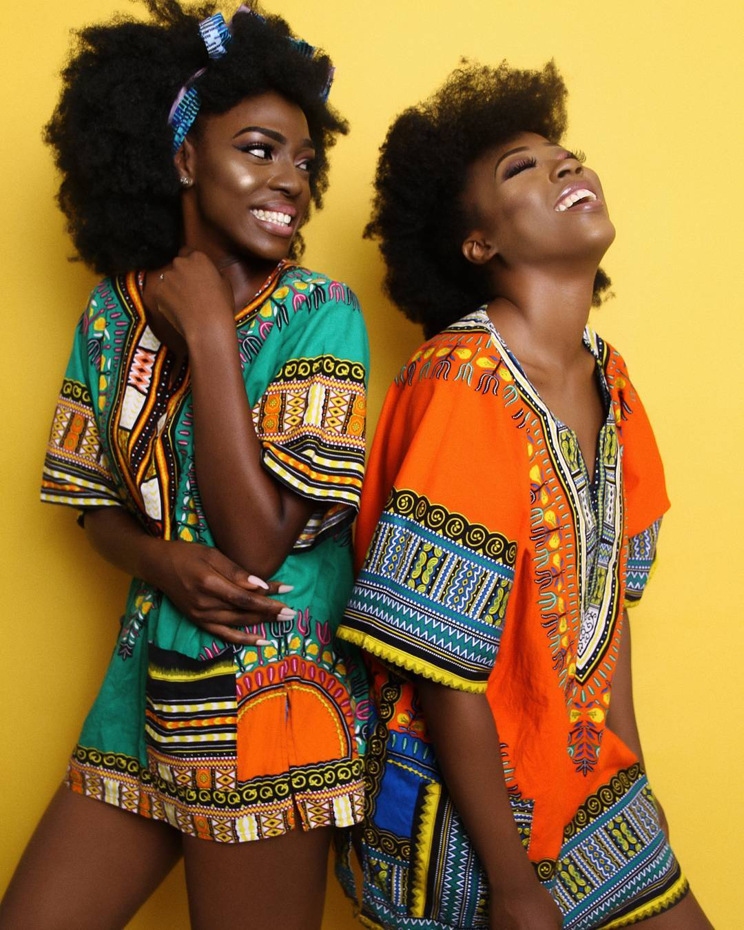 BellaNaija - Melanin Glow! Beverly Osu & Beverly Naya are Flawless in New Photos