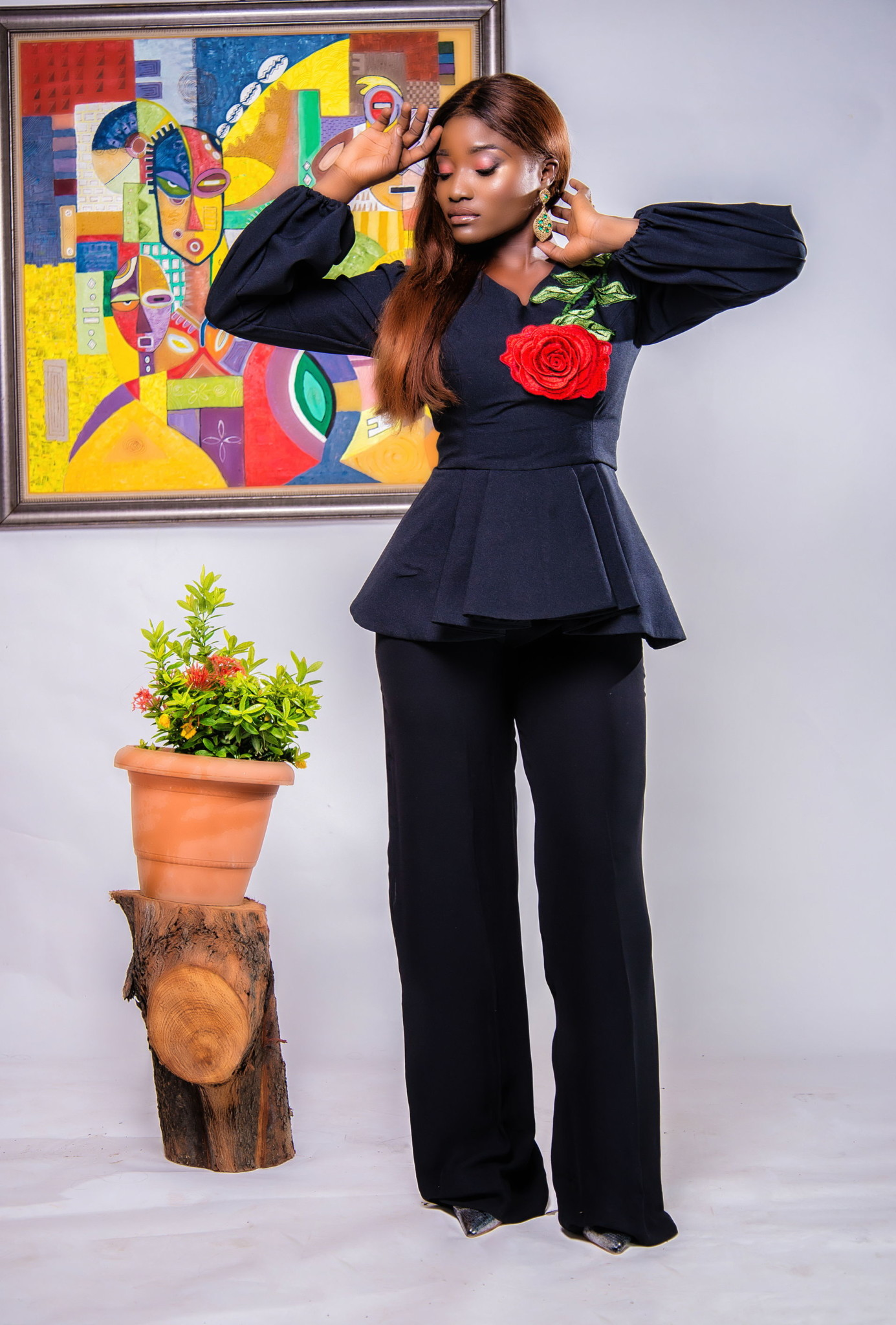 "Nigerian Womenswear Brand Tkinnuda Unveils ""The Belle Collection"" for The Sultry African Woman"