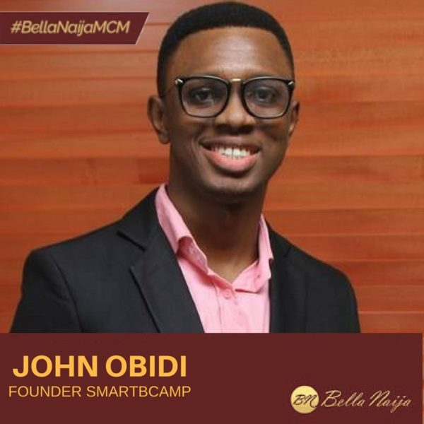 Online Business Coach & Social Media Champion John Obidi is our #BellaNaijaMCM this Week!