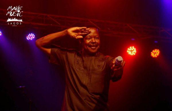 King Sunny Ade at Make Music Day