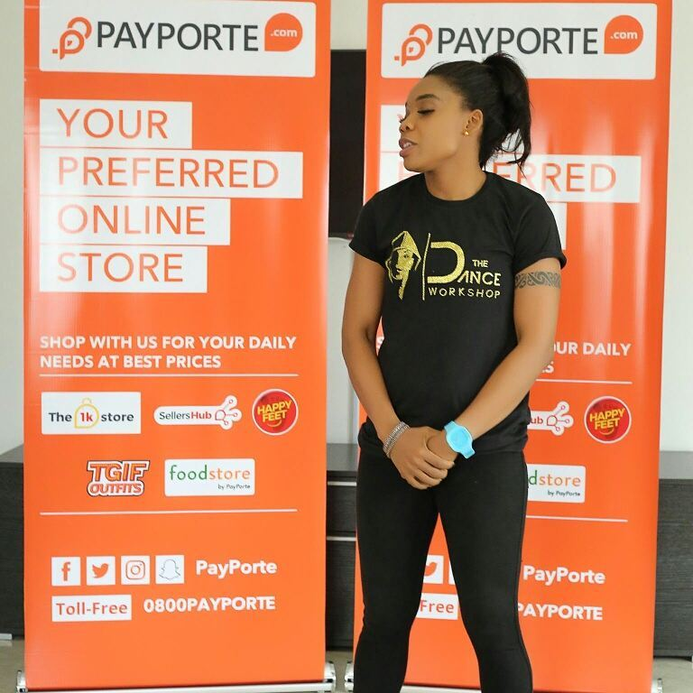 BellaNaija - Kaffy signed on as Payporte Health & Fitness Ambassador
