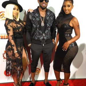 "BellaNaija - Blac Chyna & Bernice Burgos attend D'Banj's ""King Don Come"" Exclusive Listening 
