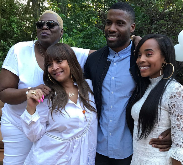 LL Cool J's daughter Italia Smith Gets an All White Bridal Shower Ahead of her Big Day