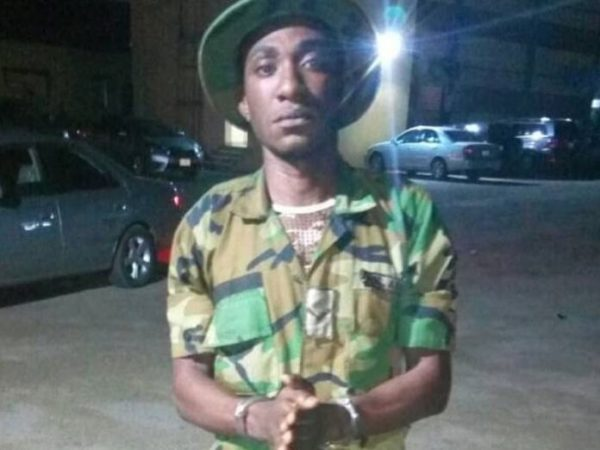 Police Arrests Soldier Allegedly Working for Kidnap Kingpin Evans