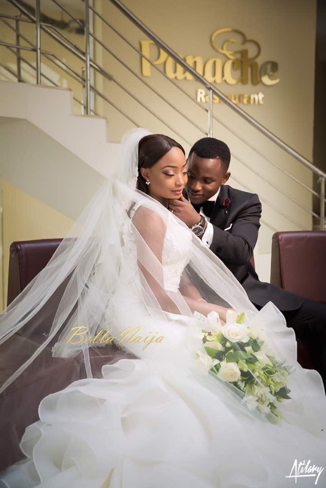 When the Bridal Stylist Becomes the Bride! Temi of Lavish Bridal\'s ...