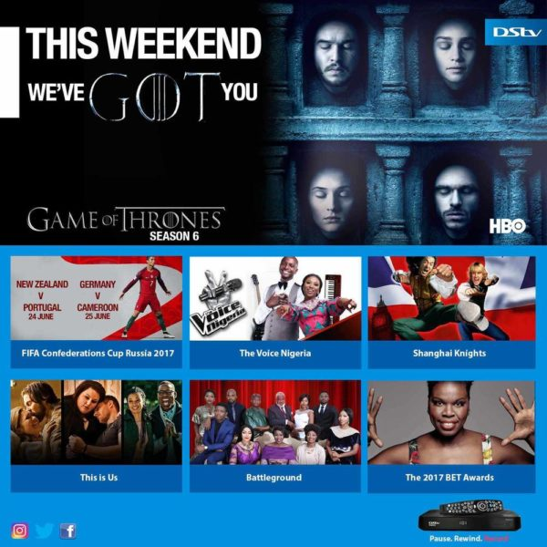 DStv Long Weekend