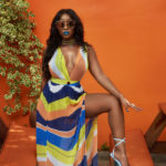 Kenyan Singer Victoria Kimani features in the New Elanred Summer '17 Campaign 'Bottles, Muses & Shots'