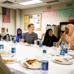 Mark Zuckerberg Dines With Somali Refugees