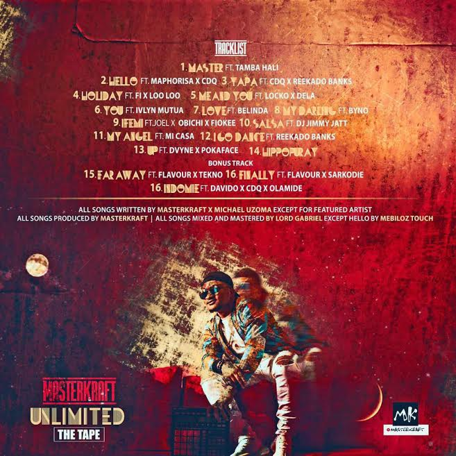 "Davido, Olamide, Tekno & More feature on Masterkraft's Forthcoming Mixtape ""Unlimited"" 