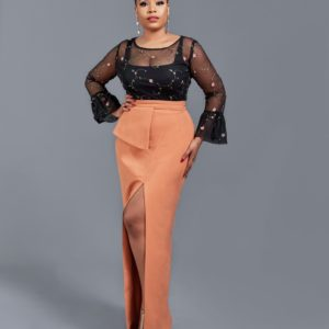 Mimi Onalaja Shines in New ZAZAII x BeautyRev 'Shop Her Style' Campaign