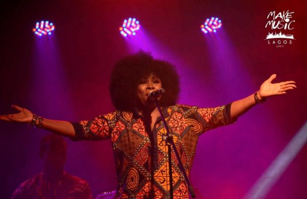 Omawumi at Make Music Lagos