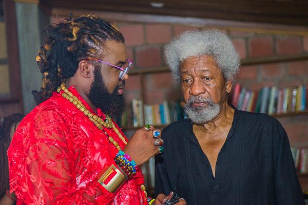 Onyeka Nwelue & Wole Soyinka
