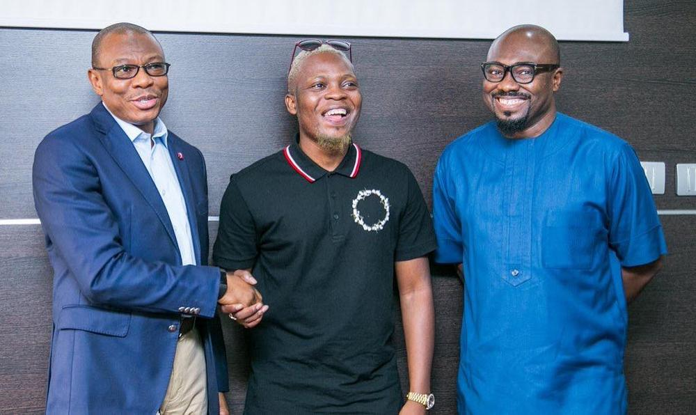 BellaNaija - Wavy! Olamide signed on as Sterling Bank Brand Ambassador